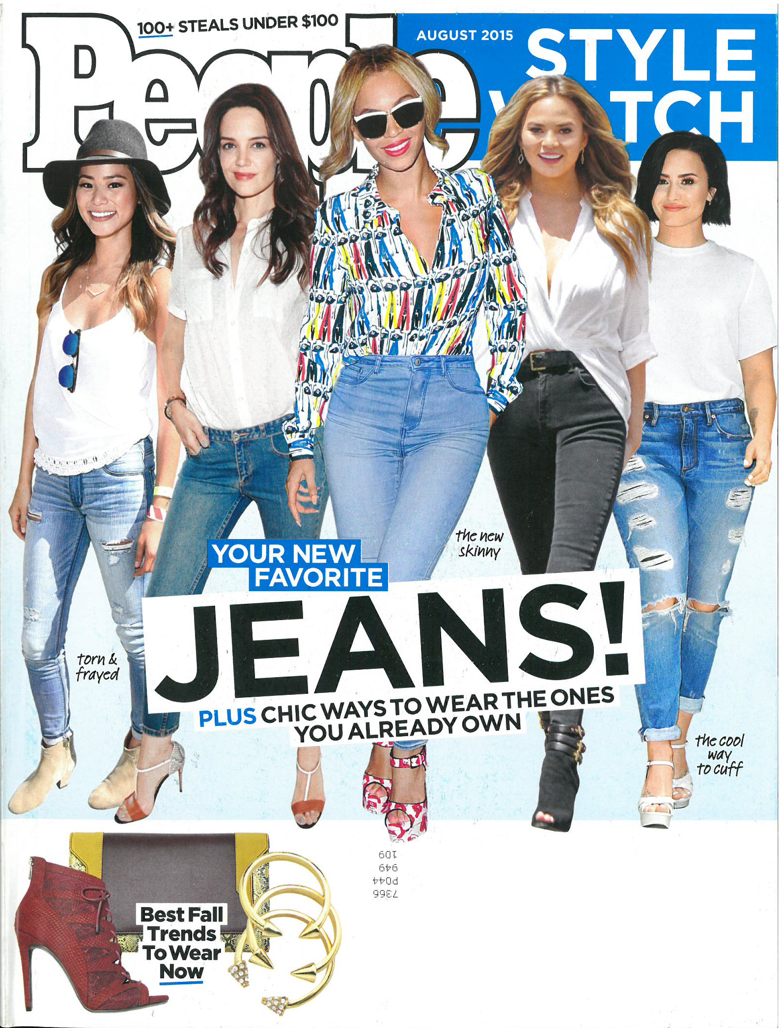 AUGUST 2015 – PEOPLE STYLE WATCH (DATE)