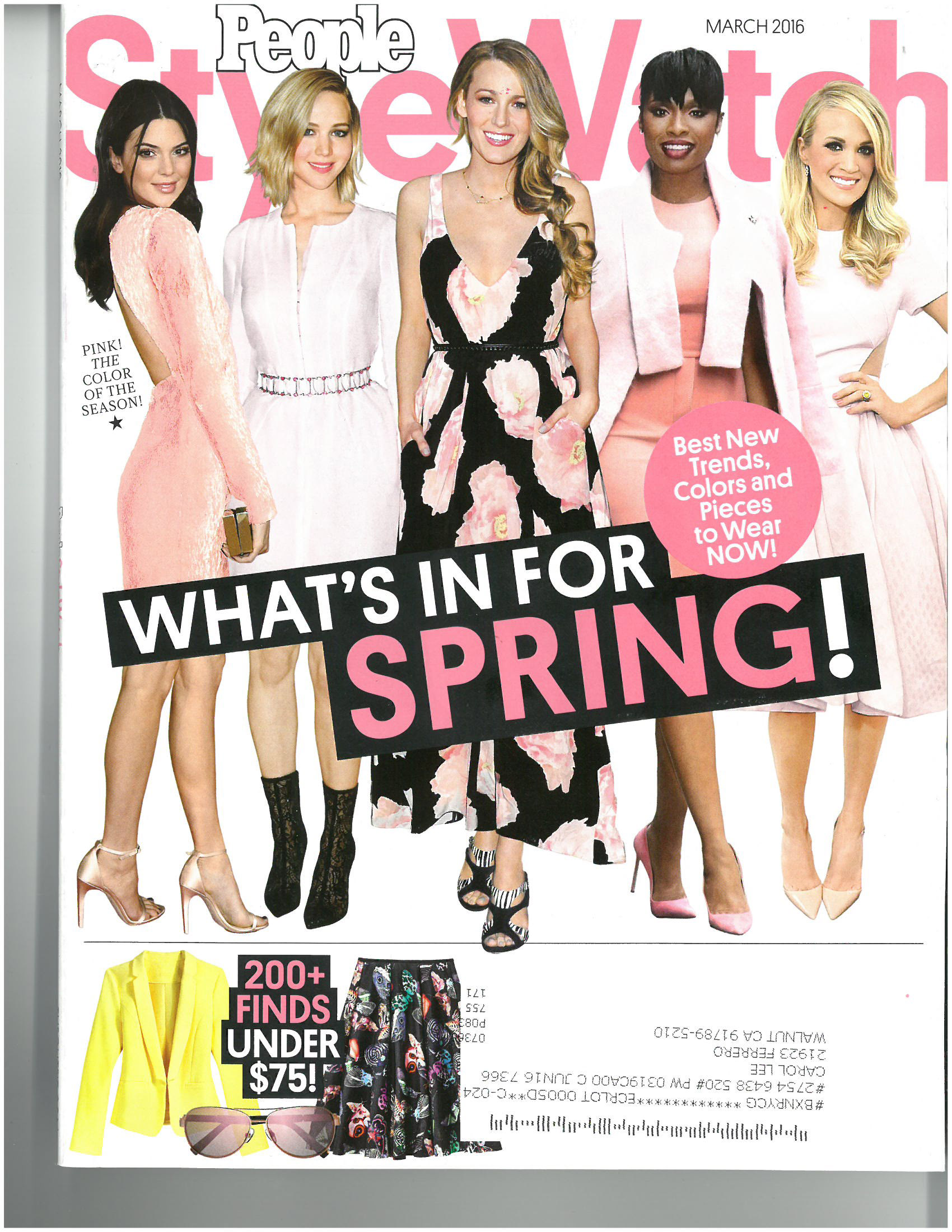 March 2016 – People Style Watch (Boxing)